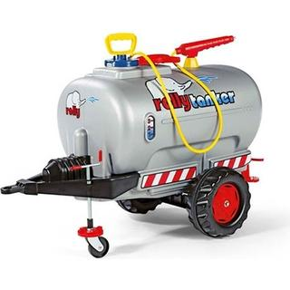Rolly Toys Jumbo Tank Silver & Spray & Jockey Wheel