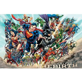 EuroPosters Justice League Rebirth Poster V35669 91.5x61cm