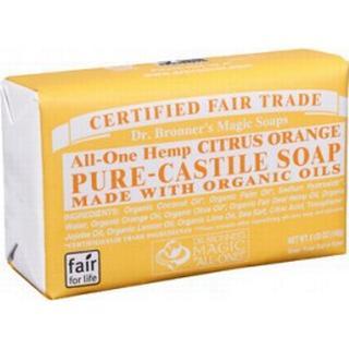 Dr. Bronners Citrus Pure-Castile Bar Soap 140g