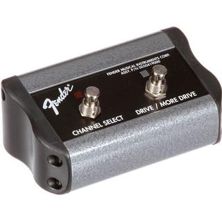Fender 2-Button 3-Function Footswitch: Channel-Gain-More Gain