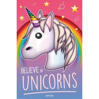 EuroPosters Emoji Believe in Unicorns Poster V33106 61x91.5cm
