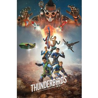 EuroPosters Thunderbirds Are Go Collage Poster V32045 61x91.5cm