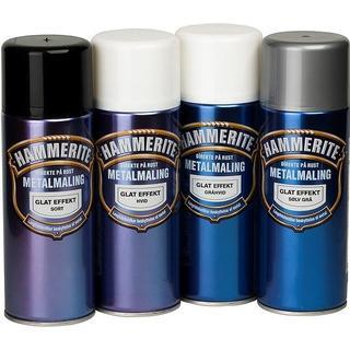 Hammerite Smooth Effect Metal Paint Black 0.4L
