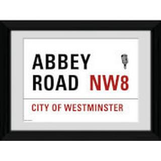 GB Eye London Abbey Road 30x40cm Framed art