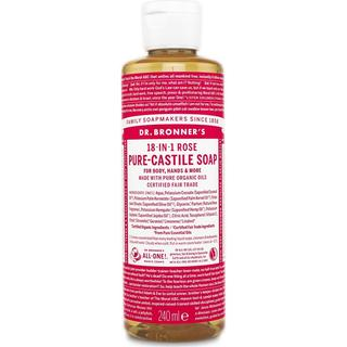 Dr. Bronners Pure-Castile Liquid Soap Rose 240ml