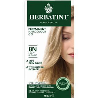 Herbatint Permanent Herbal Hair Colour 8N Light Blonde