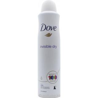 Dove Antiperspirant Aerosol Invisible Dry Deo Spray 250ml