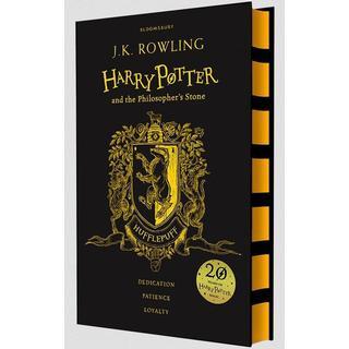 Harry Potter and the Philosopher s Stone - Hufflepuff Edition (Yellow), Hardback