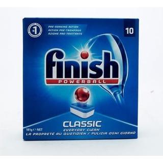 Finish Powerball Classic Dishwashing Tablets 10-pack