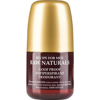 Recipe for Men Raw Naturals Goof Proof Antiperspirant Deo Roll-on 60ml