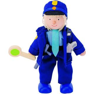 Goki Flexible Puppet Policeman 51610