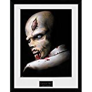GB Eye Resident Evil Zombie 30x40cm Framed art