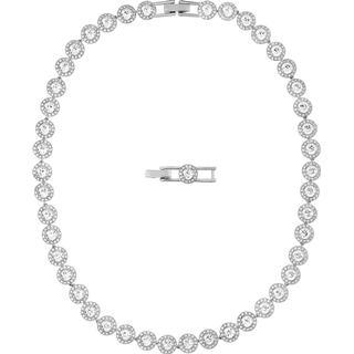 Swarovski Angelic Jewellery Set - Silver/White