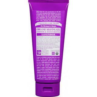 Dr. Bronners Organic Lavender Shaving Gel 208ml