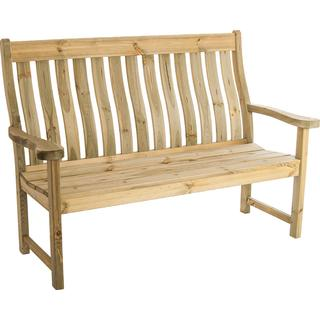 Alexander Rose Pine Farmers 5ft Garden Bench