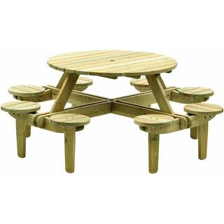 Alexander Rose Pine Gleneagles Bench Table