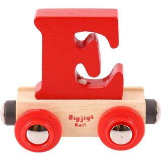 Bigjigs Rail Name Letter E