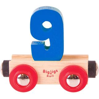 Bigjigs Rail Name Number 9