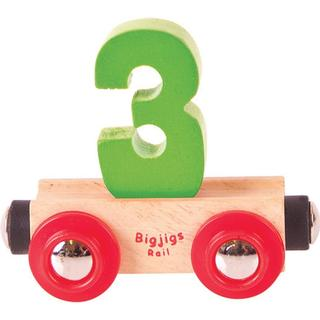 Bigjigs Rail Name Number 3