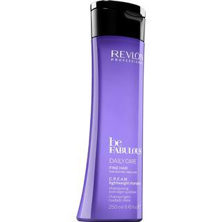 Revlon Be Fabulous Cream Shampoo for Fine Hair 250ml