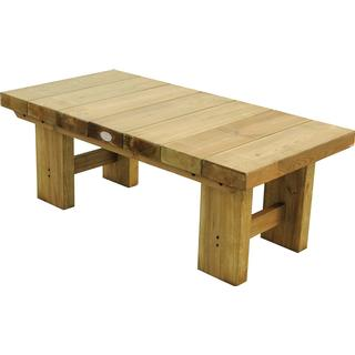 Forest Garden Sleeper Low 1.2m Dining Table