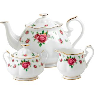 Royal Albert New Country Roses White Tea Set 3 pcs