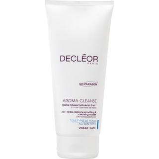 Decléor Cleanse 3 in 1 Hydra-radiance Smoothing & Cleansing Mousse 200ml Tube