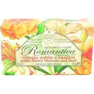 Nesti Dante Romantica Noble Cherry Blossom & Basil Soap 250g
