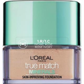 L'Oreal Paris True Match Mineral Foundation SPF19 1C Rose Ivory