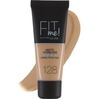 Maybelline Fit Me Matte + Poreless Foundation #128 Warm Nude
