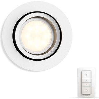 Philips Hue Milliskin With Bridge Round Ceiling Flush Light