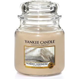 Yankee Candle Warm Cashmere Medium Scented Candles
