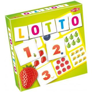 Tactic Lotto Fruits & Numbers