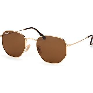 Ray-Ban Hexagonal Flat Polarized RB3548N 001/57