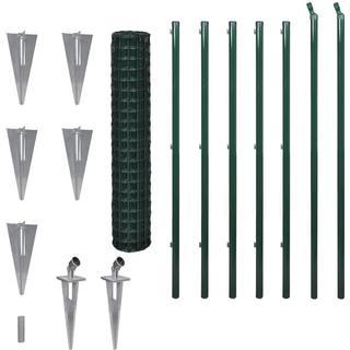 vidaXL Set Spike Euro Fence 10mx150cm