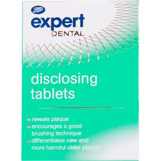 Boots Advanced Plaque Disclosing Tablets 10-pack