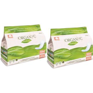 Organyc Organic Cotton Maternity Pads 2x12-pack