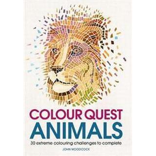 Colour Quest Animals (Colouring Books)