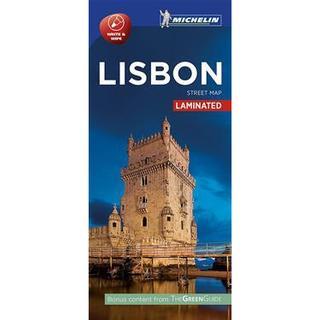 Michelin Lisbon Street Map, Paperback