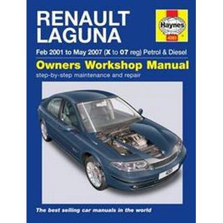Renault Laguna Petrol and Diesel Owners Workshop Manual 2001-2005, Hæfte