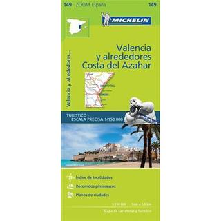 Valencia Costa del Azahar Zoom Map 149