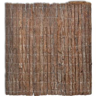 vidaXL Bark Fence 400x100cm