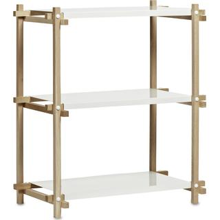 Hay Woody Column Low 3 Shelving System