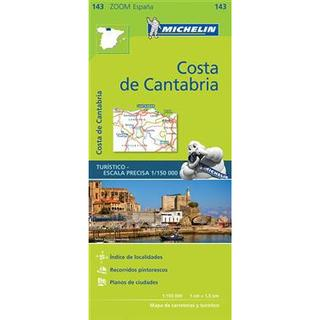 Costa de Cantabria Zoom Map 143 (Karta, Falsad., 2017)