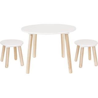 Jabadabado Tables and 2 Stools