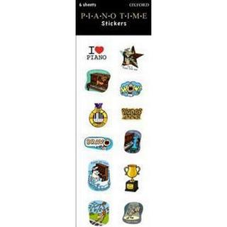 Piano Time Stickers (Övrigt format, 2013)