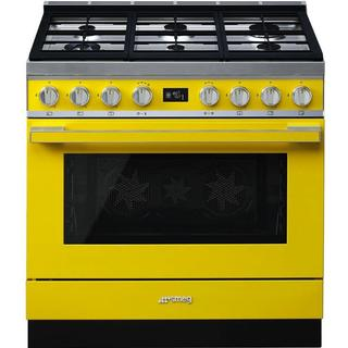 Smeg CPF9GPYW Yellow