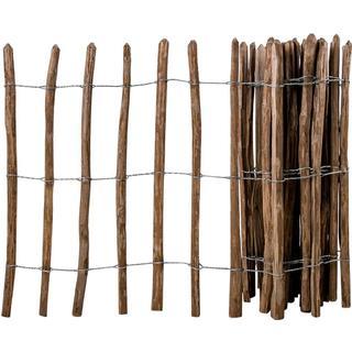 vidaXL Impregnated Hazel Wooden Fence 500x90cm