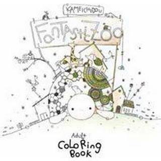 Fantastic Zoo: Adult Coloring Book (Häftad, 2017)