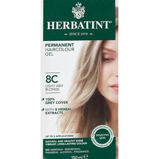 Herbatint Permanent Herbal Hair Colour 8C Light Ash Blonde